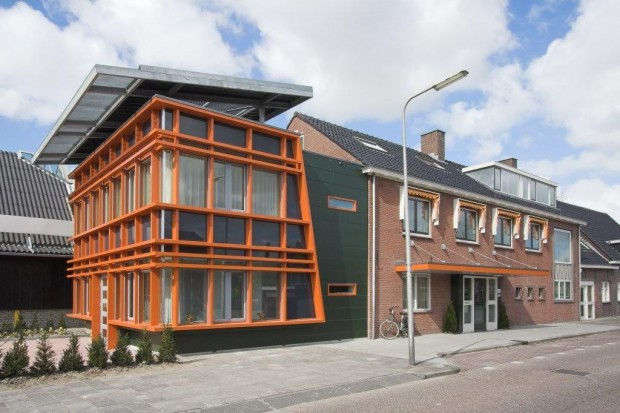 Hospice spijkenisse alsemgeest design build for Hospice rotterdam